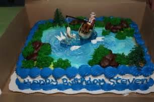 fishing theme birthday cake walmart bakery 20 im hungry pinterest birthday cakes
