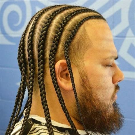 help parting hair for cornrows top 25 most interesting men braids hairstyles ideas for men s
