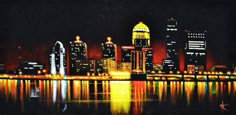 Home Decor Lights Online Louisville Painting By Thomas Kolendra