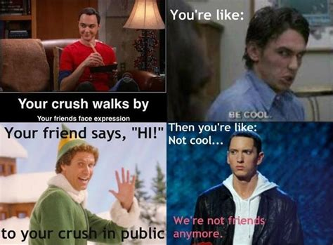 awkward moment   crush