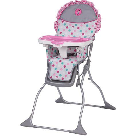 baby sitting chair kmart disney baby simple fold plus high chair minnie dot