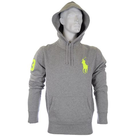 Hoodie Polos Salsabila Cloth Polo Ralph Grey Big Polo Player Hoodie Polo Ralph