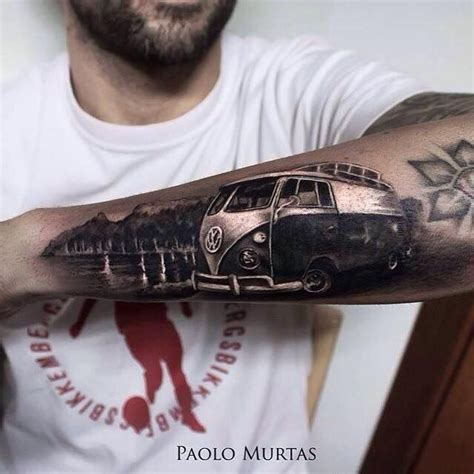 volkswagen bus tattoo 75 best images about das vw tattoos on pinterest logos