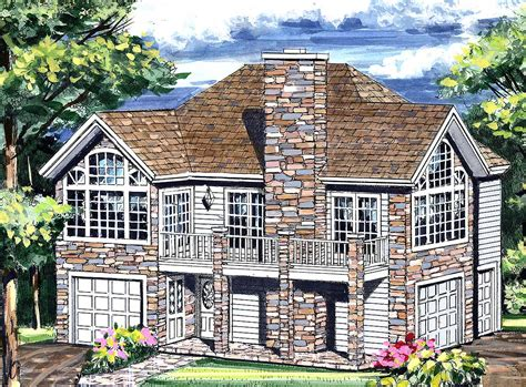 architectural home designs garage with a fabulous guest apartment above 3849ja architectural designs house plans