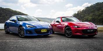 Mazda Subaru Mazda Mx 5 Rf V Subaru Brz Comparison Photos 1 Of 95