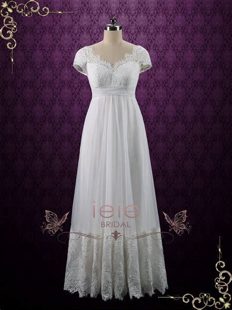 Vintage Cotton Wedding Dresses by Vintage 60 S Mexican Lace Wedding Dress Empire Waist