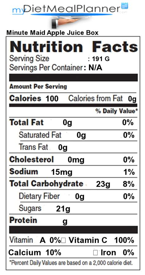 apple nutrition facts nutrition facts label popular chain restaurants 52