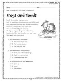 free close reading passages third grade text evidence