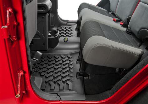 Jeep Wrangler Unlimited Floor Mats Quadratec 174 Ultimate All Weather Floor Liner Combo