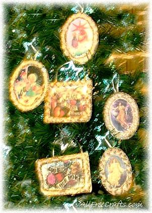 victorian icing cards ornaments   crafts