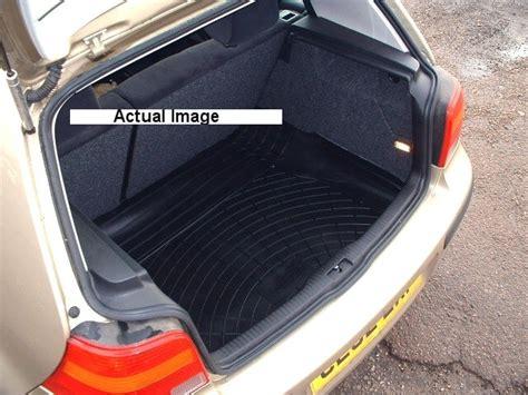 rubber boot mat liner vw golf mk iv hatchback rubber boot mat liner and bumper