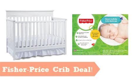 Crib Deal by Fisher Price Crib For 110 Free Mattress Southern Savers