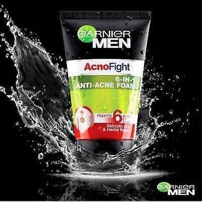 Garnier Acnofight 12 In 1 50 Ml garnier foam acno fight anti acne 6 in 1 wash