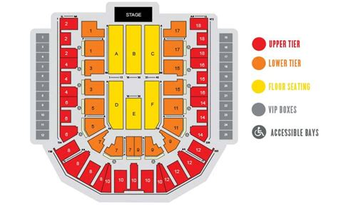 layout the venue echo arena liverpool