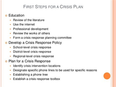 school crisis management plan template exle behavior intervention plan for high school