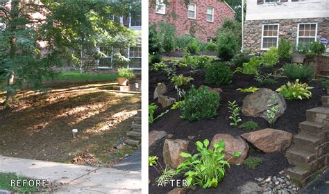 Small Backyard Ideas Before After Before And After Garden Pictures Front Garden Before After Garden Ideas Front