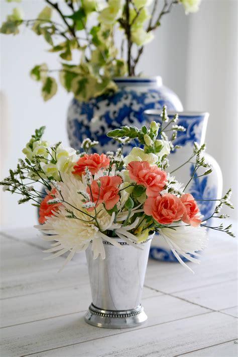 flower arrangements diy diy easter flower arrangement sequins at breakfast