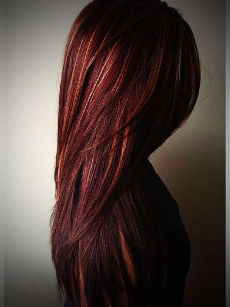 different mahogany hair color styles dark mahogany brown hair with lowlights