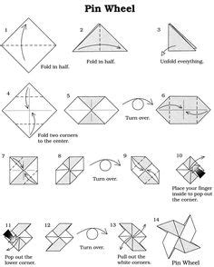 How To Make A Origami Pinwheel - cosmic education extensions ideas on 155 pins
