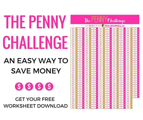 Ways To Save Your Pennies by Easy Way To Save Money The Challenge The