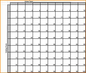 template for bowl squares search results for superbowl squares printable