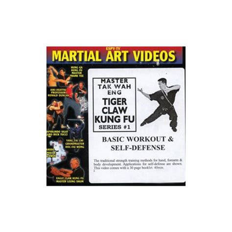 tiger claw kung fu series 1 basic workout self defense