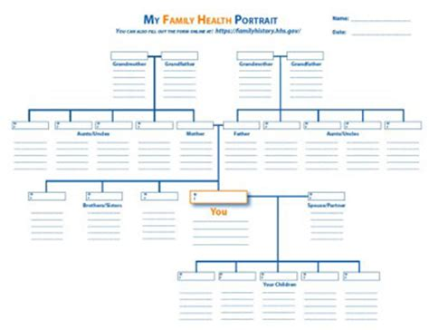 printable medical family tree 8 best images of free printable family history chart