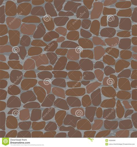 seamless pattern stone seamless patterns with stones stock vector illustration