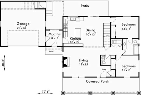 house plans master on main country house plan carriage garage master bedroom on