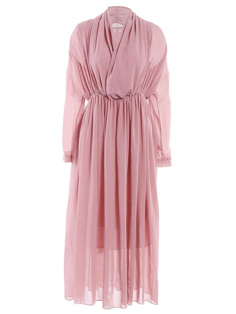 Sleeve Chiffon Dress stylish v neck sleeve chiffon maxi dress for in
