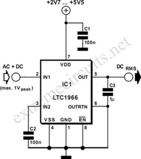 dc to ac conversion circuit diagram dc free engine image