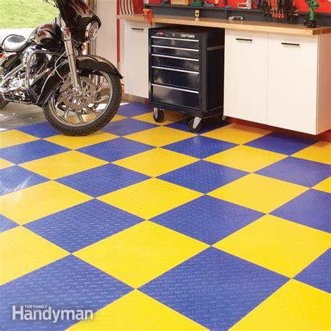 Garage Flooring Options   The Family Handyman