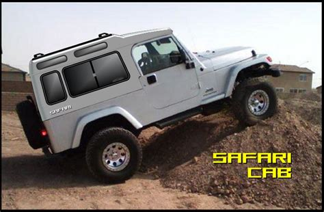 jeep hardtop custom jeepforum com quot safari cab quot custom hardtop project
