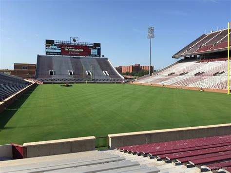 section 20 a oklahoma memorial stadium section 20 rateyourseats com