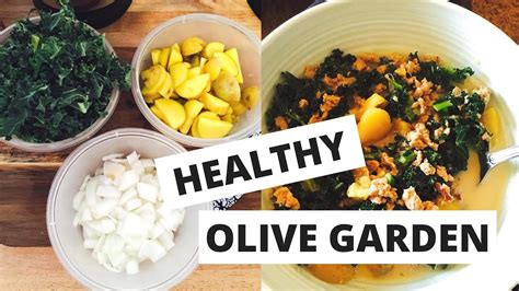 Healthy Olive Garden by Olive Garden Made Healthy Meal Prep Makeovers