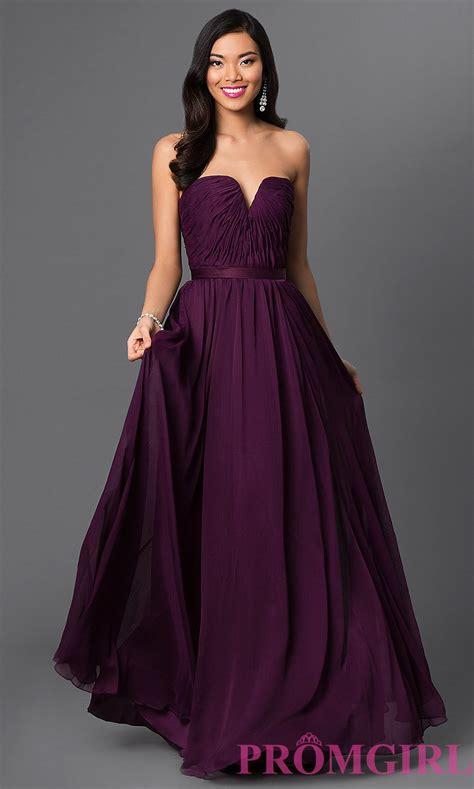 Dress Pusple purple dresses strapless purple bridesmaid dress