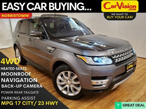 pre owned  land rover range rover sport