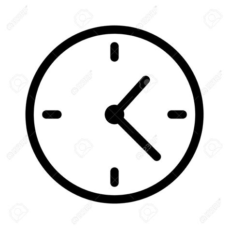 simple clock clock clipart simple pencil and in color clock clipart
