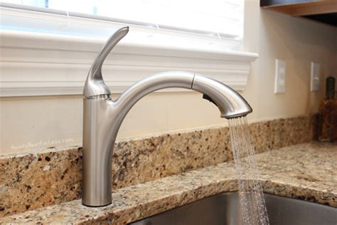 install a kitchen faucet nest for less