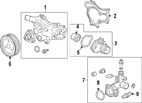 2011 chevy cruze cooling system diagram 2011 chevrolet cruze parts gm parts department buy