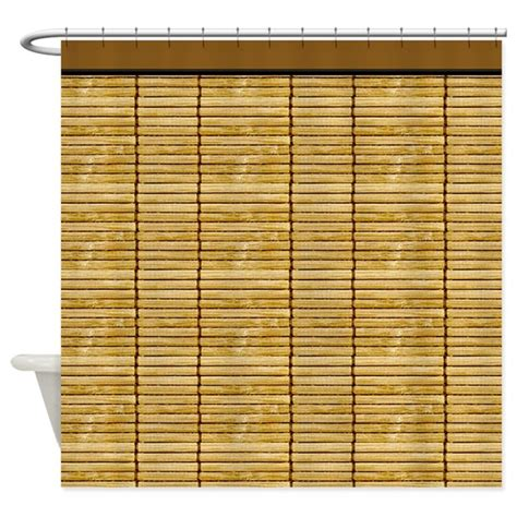 Wooden Slat Blinds by Wooden Slat Blinds Shower Curtain By Digitalrealityart