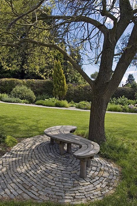 bench under tree 25 best curved outdoor benches ideas on pinterest wood