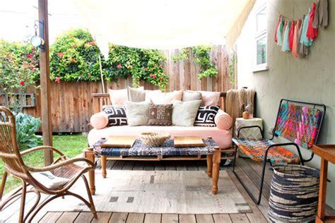 diy outdoor room pretty porch honeysuckle