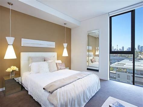 modern bedroom design idea with carpet sash windows modern bedroom design idea with carpet floor to ceiling