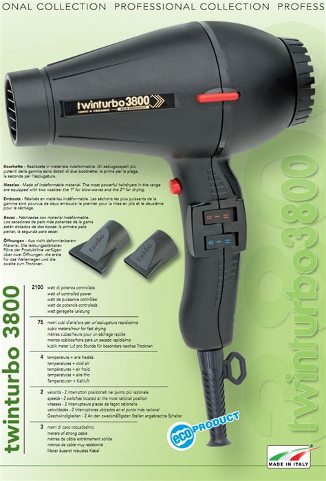 Info Hair Dryer buy turbo turbo 3800 eco ceramic ionic hair dryer