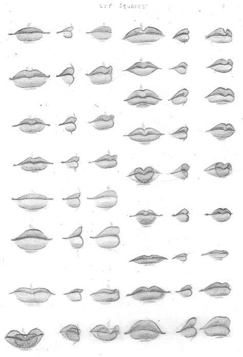 Drawing Mouths by By Chibiki On Deviantart