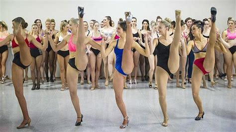 Chorus Girls Cancan Do Attitude In Moulin Rouge Auditions Herald Sun