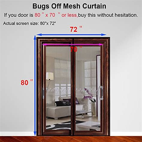 Magnetic Screen Door For French Doors Sliding Glass Doors Patio Screen Door Magnets