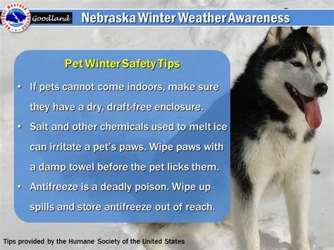 nebraska winter weather awareness