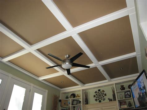 Ceiling Covering Options by Hubby Got This Idea From A Magazine Panels And Beams Of